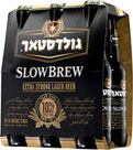 "בירה SLOWBREW חזקה מאוד גולדסטאר (330x6 מ""ל)"